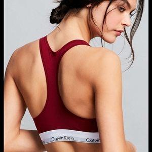 Calvin Klein Bra - Dark Red
